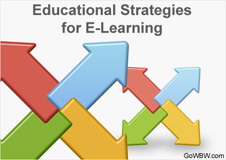 Educational Strategies for E-Learning