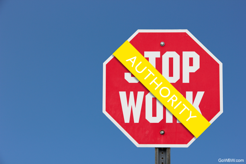 Stop Work Authority